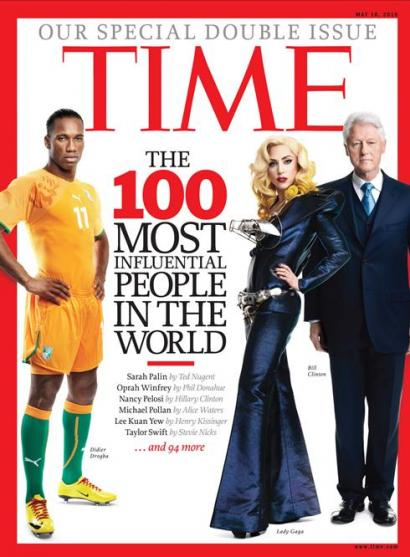 "Time Magazine – ""World's Most Influential People"" List"