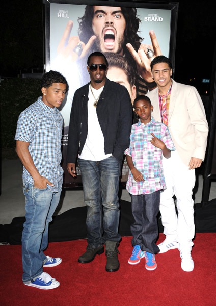 "Diddy And Russell Brand Do ""Get Him to the Greek"" Premiere"