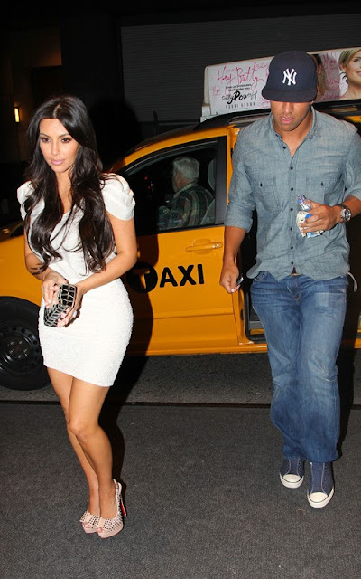 Kim Kardashian And New Boo Step Out For Date Night!
