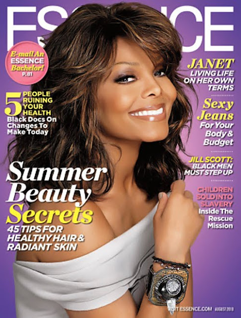 The BEAUTIFUL Janet Jackson Cover Essence Magazine!