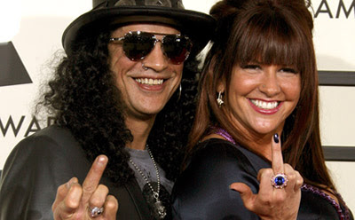 Guitarist Slash Files For Divorce!