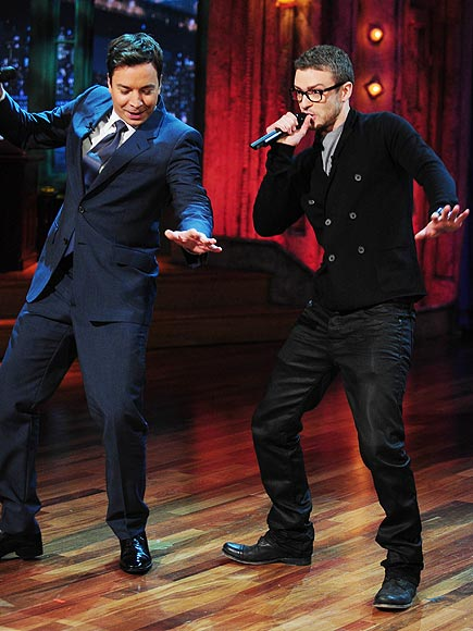Justin Timberlake And Jimmy Fallon Get BIZZY On The Mic!