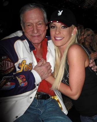 In EXTREMELY Creepy News, Hugh Hefner…..