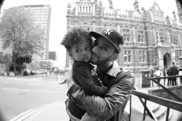 Meet Swizz Beatz's Little Girl!