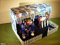 Philly Etsy Team wins 3rd Place at the PBR Craft Challenge Feb 2009 Diorama by RMLee