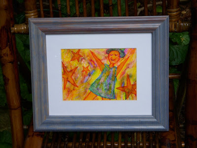Framed Original Watercolor, Hurry... only 1 available!