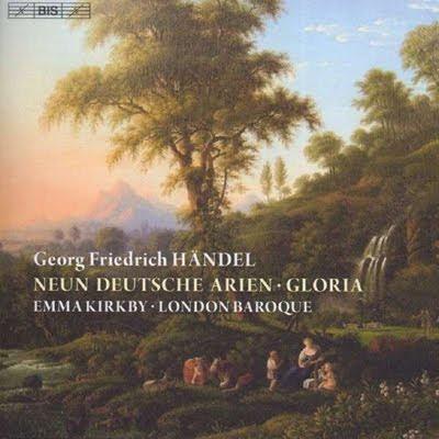 Nueve arias alemanas de Haendel por Emma Kirkby y London Baroque