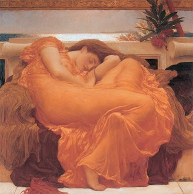 Flaming June, por Fredrick Lord Leighton(1830-1896)