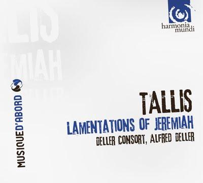 Lamentaciones de Jeremías de Tallis por Deller
