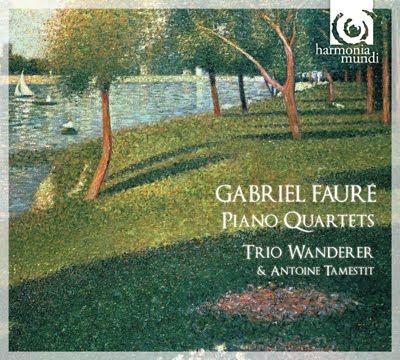 Cuartetos con piano de Fauré por el trío Wanderer y el viola Antoine Tamestit