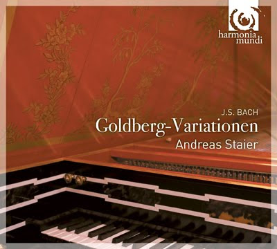 Variaciones Goldberg de Bach por Andreas Staier