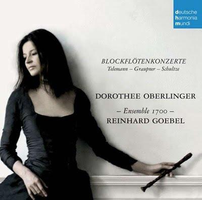 Concierto de telemann, Graupner y Schultze por Dorothee Oberlinger y Reinhard Goebel en DHM