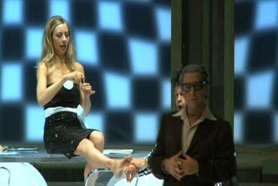 Un momento de L'equivoco stravagnte de Rossini en el Festival Rossini de Pésaro de 2008