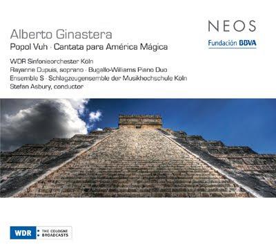 Música de Alberto Ginastera en el sello Neos