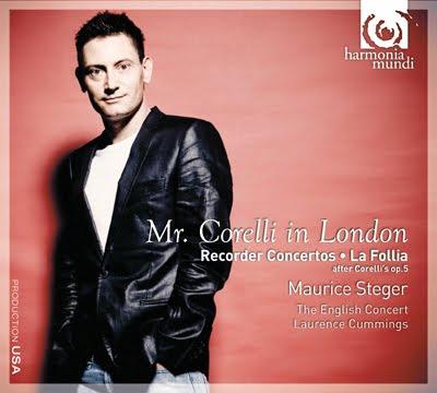 Corelli en LOndres por Maurice Steger