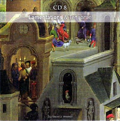 Lamentaciones y Tinieblas en el volumen 8 de Sacred Music