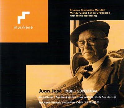 Juan José de Sorozábal publicado por Musikene