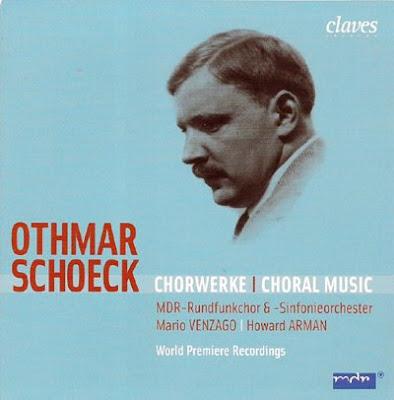 Obra coral de Othmar Schoeck en el sello Claves