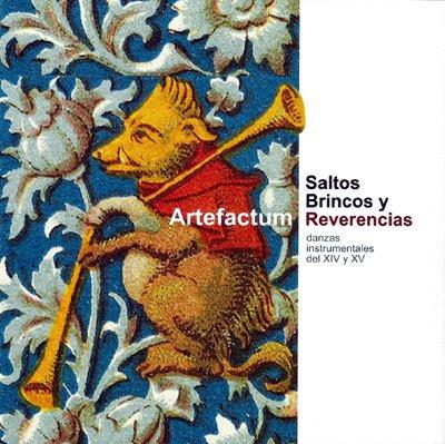 Saltos, brincos y reverencias, cuarto disco de Artefactum