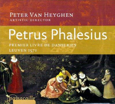 Danseries (1571) de Phalesius por Van Heyghem