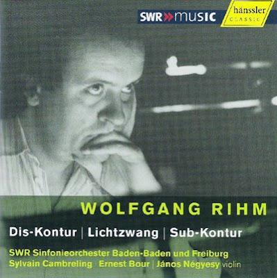 Obras orquestales de Wolfgang Rihm