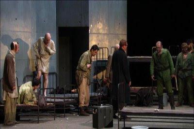 De la casa de los muertos en la puesta en escena de Patrice Chéreau para el Festival de Aix-en-Provence 2007