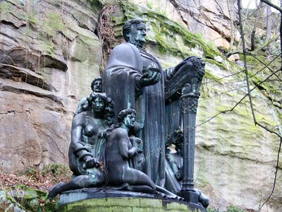 Monumento a Wagner en Dresde