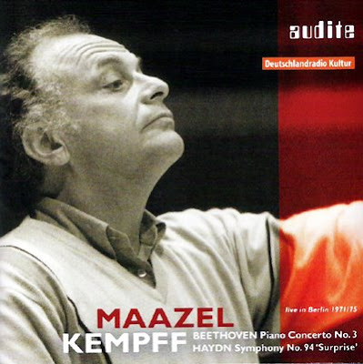 Wilhelm Kempff y Lorin Maazel juntos en Audite