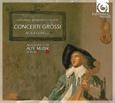 Conciertos de Platti por la Akademie für Alte Musik de Berlín
