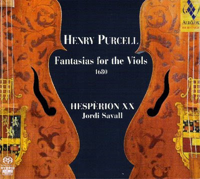 Las Fantasías de Purcell por Hespèrion XX