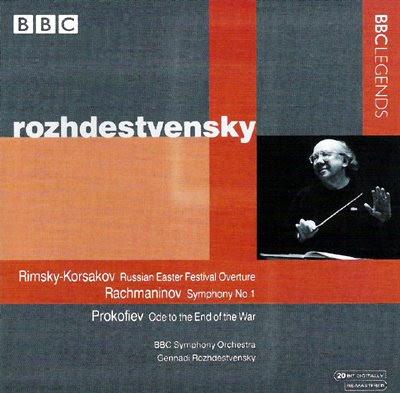 Rozhdestvensky con la Orquesta de la BBC