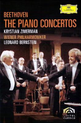 Bernstein con Zimerman y los Conciertos de Beethoven