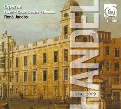 Las óperas en la Edición Haendel de HM