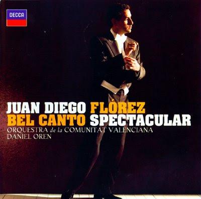 Bel canto Spectacular de Juan Diego Flórez desde Valencia