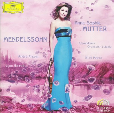 Anne-Sophie Mutter toca Mendelssohn