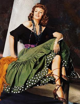 Rita Hayworth como Carmen