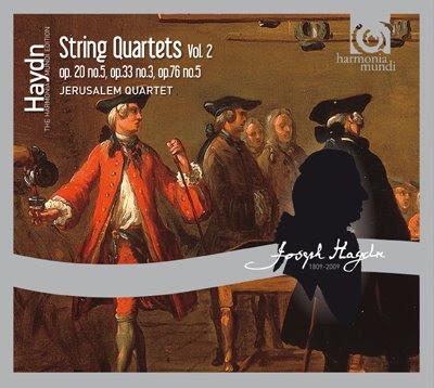 Segundo volumen de cuartetos de Haydn por el Jerusalem