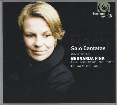 Cantatas de Bach por Bernarda Fink y Freiburger Barockorchester