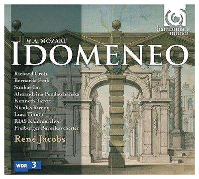 Idomeneo de Mozart por René Jacobs