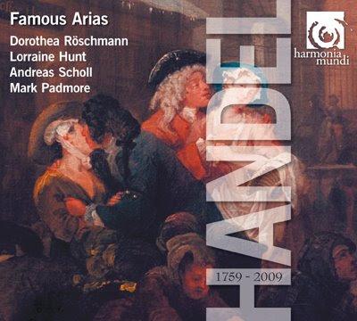 Famous arias de Haendel