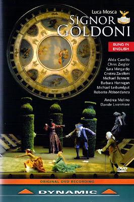 Signor Goldoni de Luca Mosca en la producción del estreno
