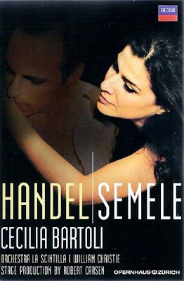 Semele de Haendel de la Ópera de Zúrich en Decca