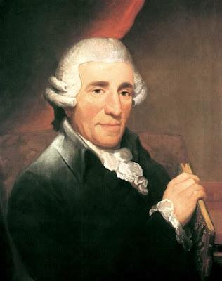 Josep Haydn retratado por Thomas Hardy en 1791