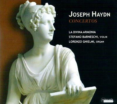 Conciertos para violín y órgano de Haydn por La Divina Armonía de Lorenzo Ghielmi en Passacaille