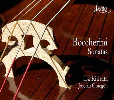 Sonatas para violonchelo de Boccherini por La Ritirata
