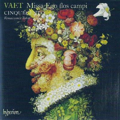 Disco dedicado a la música de Jacobus Vaet por el conjunto Cinquecento