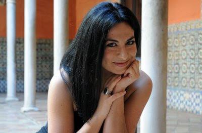 Pilar Jurado en la Casa Palacio Salinas de Sevilla (© Juan Carlos Vázquez / Diario de Sevilla)