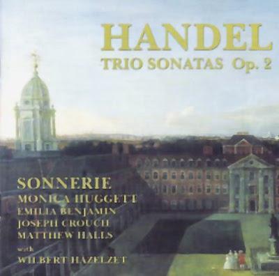 Seis sonatas en trío Op.2 de Haendel por Sonnerie en Aviè