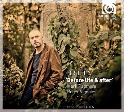 Mark Padmore canta canciones de Britten