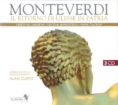 Reedición de Il ritonro di Ulisse in Patria de Monteverdi por Alan Curtis en nuova Era